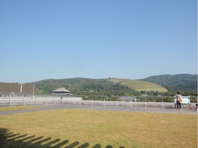 奈良県庁舎屋上広場