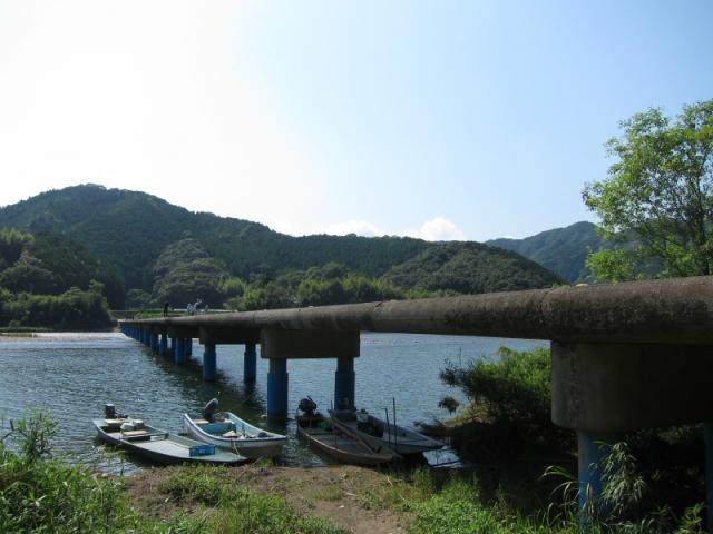 佐田沈下橋(今成橋)