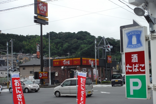 すき家鹿児島宇宿店