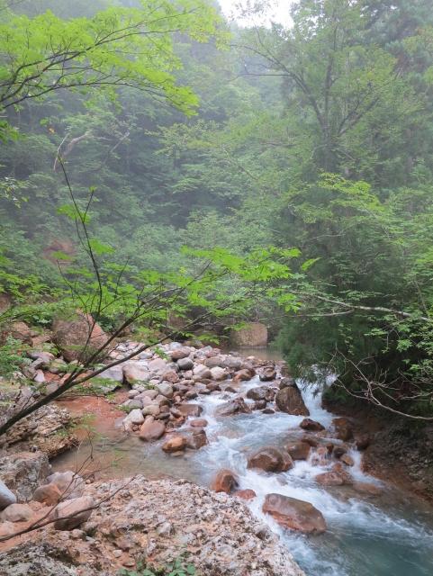 鶴の湯峡まで歩いて15分散策