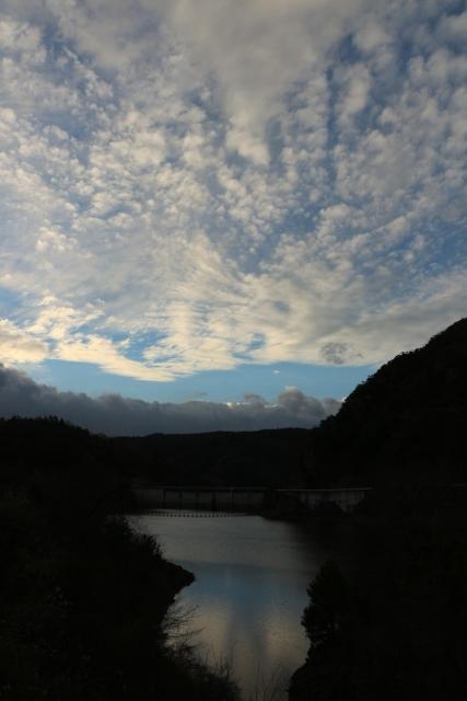 安室ダム湖