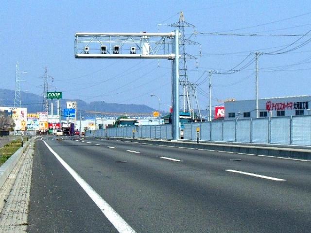 東行きを撮影 (60km/h)