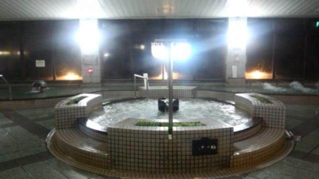 平家の湯内湯全景