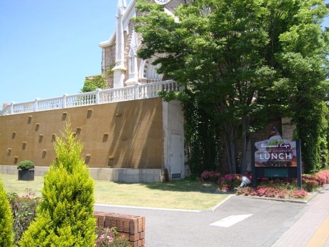 結婚式場と隣接しているレストラン。