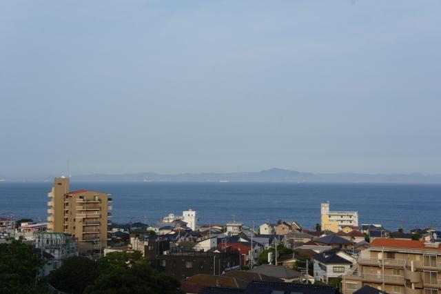 7階の部屋・和室から、海が見えます!