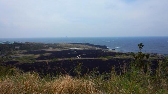 火山体験歩道