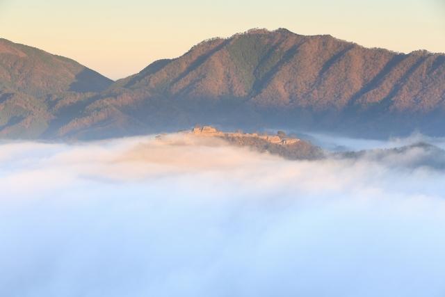 立雲峡 第一展望所