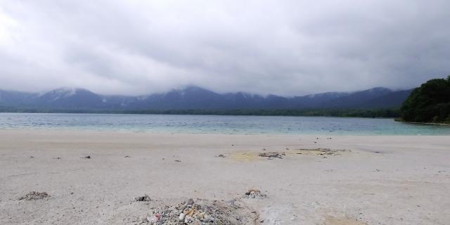 宇曽利湖と極楽浜