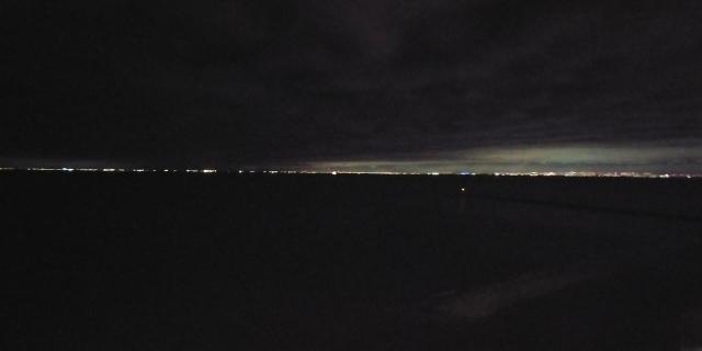 展望テラスからの夜景