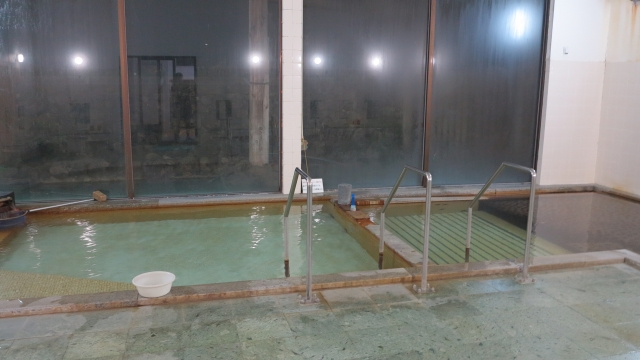 新館大浴場は南郷温泉2号井