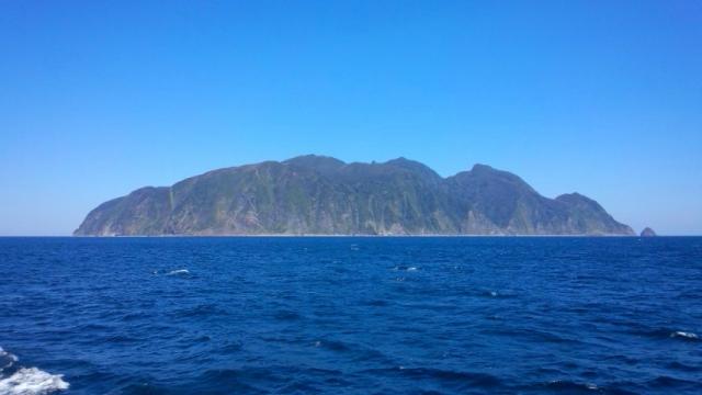 御蔵島・御山(2015年3月27日金)