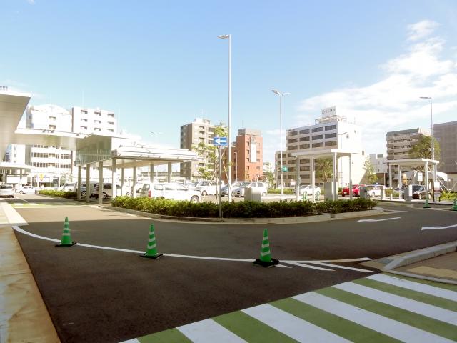 金沢駅西暫定駐車場