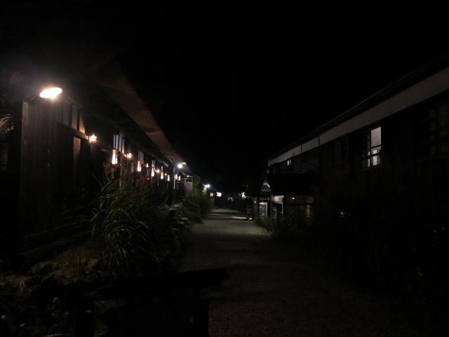 幻想的な夜景