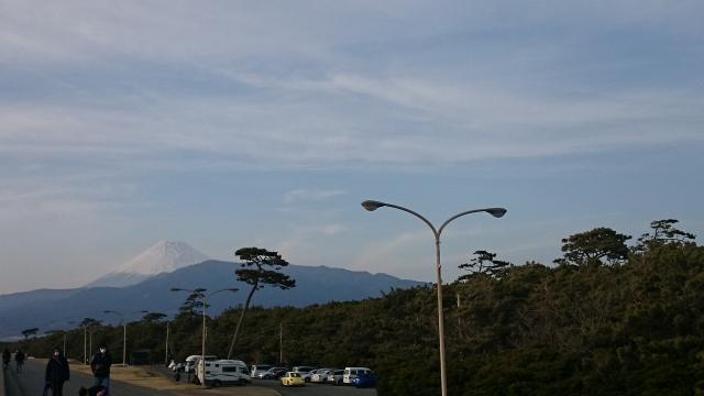 千本松原からの富士山