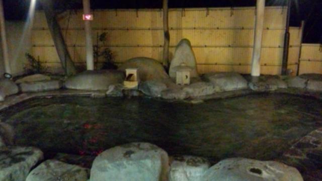 小梅の湯露天風呂