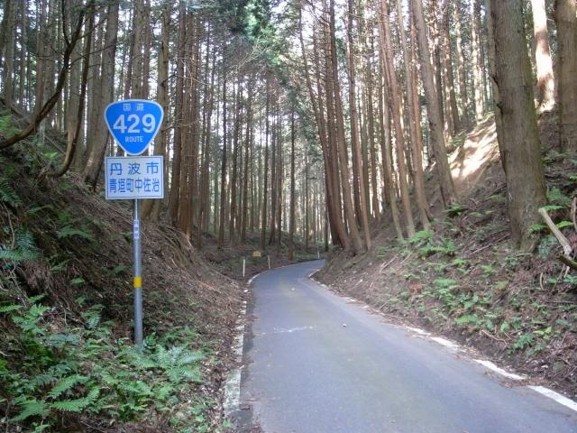 【2009/6/27撮影】1車線の道が続きます
