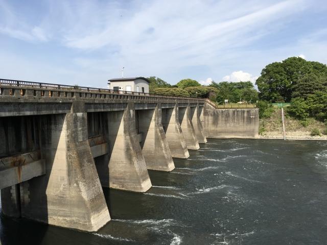 関宿水閘門