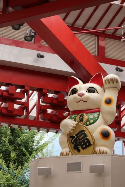 【2014/8/3撮影】巨大招き猫
